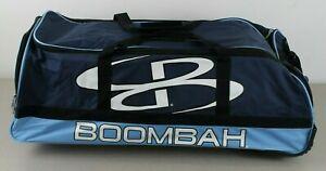 NEW Boombah Baseball Softball Brute 2.0 Bat Bag Navy Columbia Blue