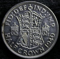 Great Britain 1940  Half Crown Great Details   Re6f 50-668
