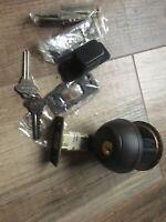 "Hager 3949 UL Single Point Lock or Latch Silver 2 3//8/"" US26D"
