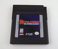 Revelations: The Demon Slayer  --  Nintendo Game Boy Color Cartridge *Guaranteed