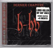 CD RAP FRANCAIS / HIP HOP VIBES - DERNIER CHAPITRE (NEUF SOUS CELLO)