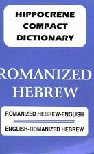 Dic Romanized English-Hebrew - Hebrew-English Compact Dictionary-ExLibrary