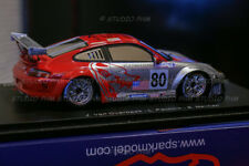 PORSCHE 70 years 911GT3 RSR N°80 FLYING LIZARD 13° 24H du MANS 2005 Spark 1:43