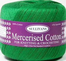 Green Crochet Threads