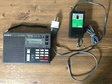 Sony Icf-7600Ds Multi-band Portable Receiver W/Power Supply, Excellent.