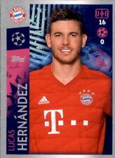 Champions League 19 20 2019 2020 Sticker 87 Lucas Hernandez FC Bayern München
