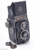 ROLLEICORD II TYPE I TLR CAMERA *1936-37* W/ ZEISS TRIOTAR 75MM 3.5