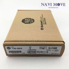 New Allen Bradley Factory Sealed 1746-OW16 SLC 500 SerD PLC Output Module in box
