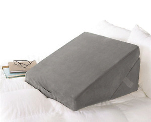 Brookstone® 4-in-1 Bed Wedge Pillow in Grey