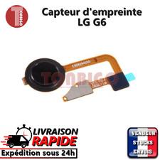 LG G6 NOIR Bouton d'accueil capteur d'empreinte - Home Button flex fingerprint