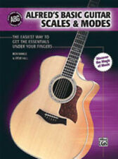 Alfred's Basic Guitar Scales & Modes Guitar Book 32551