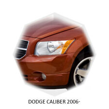 For Dodge Caliber Eyebrows Eyelids Headlight Cover 2006-2009 Unpainted 2 pcs