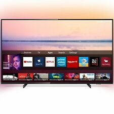"GRADE A2 - Refurbished Philips Ambilight 50"" 4K Ultra HD with HDR10+ LED Freevie"
