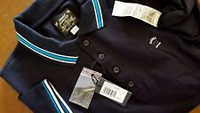 New Diesel T-Nox Polo Shirt Midnight Blue Collar Polo Size Large $98.00