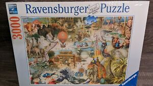 Ravensburger 3,000 Piece Puzzle No 170685 Size 121x80 cm WRAPPED in plastic