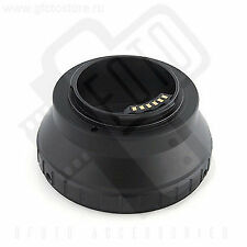 Canon FD lenses to Nikon 1 adapter with AF/EXP chip Gfoto