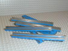 LEGO® Eisenbahn 8x Schiene 12V gerade track blau 3241 7730 7727 7740 7866 F1541