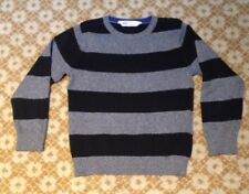 H&M boys striped jumper 100% cotton VGC age 6-8 years