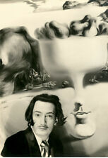 Salvador Dali photograph - L1985 - Apparition of Face and Fruit Dish on a Beach