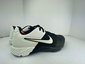 Nike Alpha Huarache Elite 2 Baseball Turf Shoes Oreo Mens Size 9 AJ6877-004 New