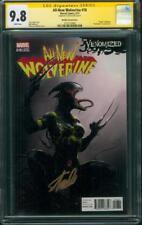 All New Wolverine 18 Mattina Venom Variant CGC 9.8 SS Stan Lee Sign X-23 X Men