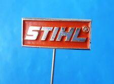 STIHL ( Germany chainsaw ) - old pin badge distintivo anstecknadel kettensäge