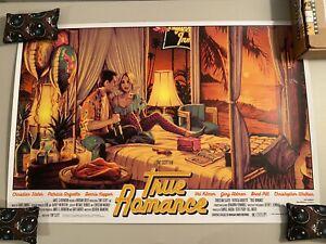 SOLD OUT True Romance Print by Mondo Artist Rockin Jelly Bean Bottleneck x/175