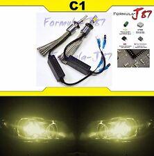 LED Kit C1 60W H1 P14.5s 3000K Yellow Two Bulbs Head Light Fog Easy Installation