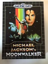 Michael Jackson's Moonwalker - Sega Genesis - Replacement Case - No Game