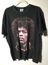 Vintage 1994 Jimi Hendrix Winterland Are You Experienced Black T Shirt Size L