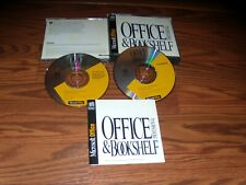 Microsoft Professional Office & Bookshelf (PC, 1994) Program CD-ROM