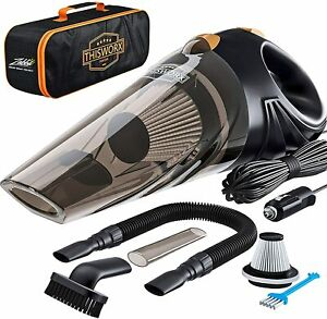 ThisWorx Portable Car Vacuum Cleaner 12V cable 16ft TWC-01