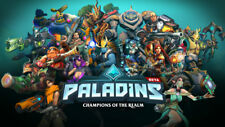 Video Game  Paladins Silk Poster Wallpaper 24 X 13 inch