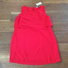 "New tag £20 red occasion wear dress size 18 40"" waist"