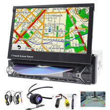 "7"" Autoradio 1 DIN GPS Navigation Bluetooth PANTALLA TÁCTIL DVD+Wireless Camera"
