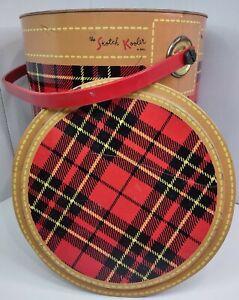 Vintage The Skotch Kooler 4 Gallon Deluxe by Hamilton Skotch Red Plaid