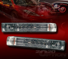 FOR 98-04 CHEVY S10 BLAZER LED LOOK SMOKE LENS CORNER PARKING SIGNAL LAMP LIGHTS