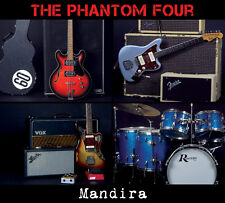 CD - The Phantom Four - Mandira, surf music from Amsterdam, The Netherlands