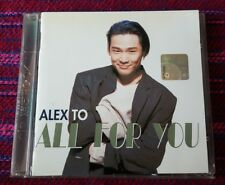 Alex To ( 杜德偉 ) ~ All For You ( Malaysia Press ) Cd