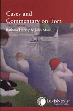 Harvey & Marston: Cases and Commentary on Tort, Marston, John, Harvey, Barba