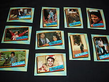 10  Michael Jackson Topp's Series 2 Trading Cards Mint 1984 (2nd)