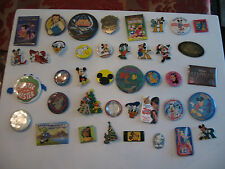 OLD DISNEY COLLECTIBLE MIXED LOT OF 40 PINBACKS, BUTTONS & MORE LOT 8