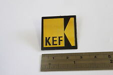 "KEF Logo Badge Aluminium 27mm (1-1/16"") Single"