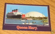 Queen Mary Steamship and Spruce Goose Long Beach Postcard