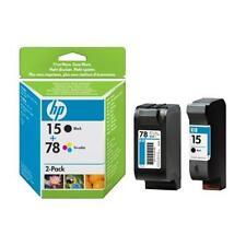 Genuina HP 78 color y 15 Negro 916C 920C 940C 1180C 3810 3816 3820 Envío rápido