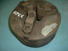 "10""  3-jaw lathe chuck, D1-8 spindle mount"