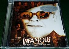 RACHEL PORTMAN, JOHNNY BOND, ETAL, Infamous, SOUNDTRACK CD, NEW