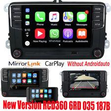 Car Stereo Radio RCD360 CarPlay GPS USB BT 187B For VW Tiguan Caddy Golf Polo CC