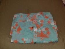 new mens lost enterprises surf lost at sea smooth sailing tropical print shirt.