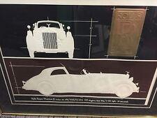 Roy Williams Serigraph Rollys Royce Phanton II Sedan Lmt Ed 1984